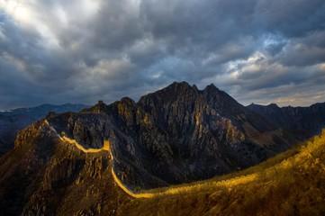 Sunrise at Banyuchang, Great Wall of China, Qinhuangdao, Hebei Province, China, Asia