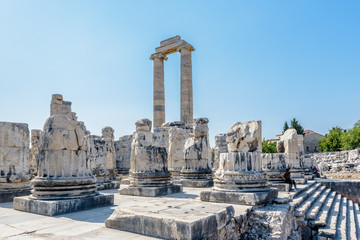 Apollo Temple at Didyma in Didim,Aydin,Turkey.