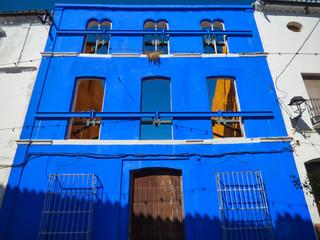 Benaojan en Malaga, Andalucia, España