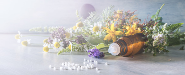 Header for homeopathy and other alternative medicine