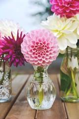 Blumenstrauß - Dahlien