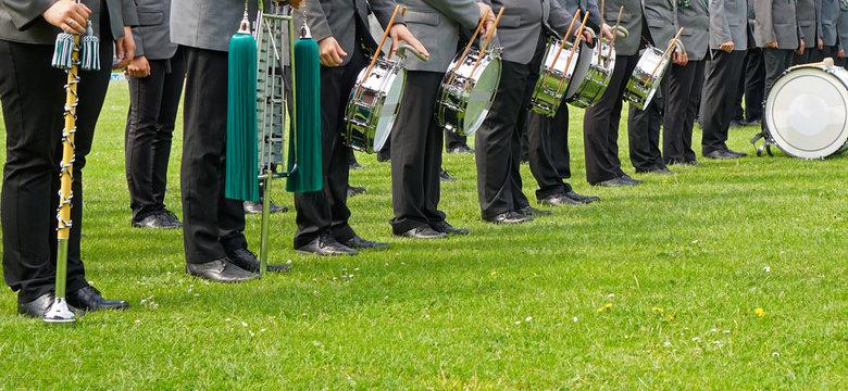 Schützenfest Antreten Musikzug
