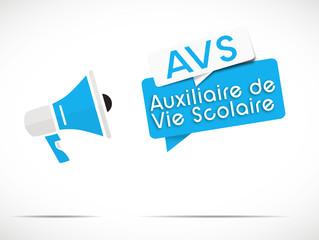 mégaphone : AVS