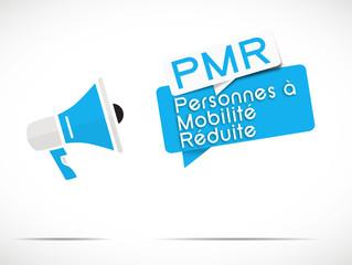 mégaphone : PMR