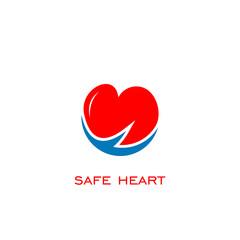 safe heart logo,