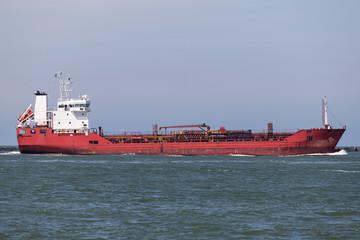 chemical tanker inbound Rottedam
