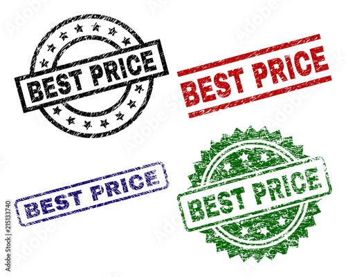 best price seal prints with corroded texture black green red blue