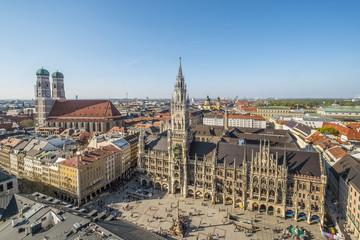 Rathaus (Town Hall), Marienplatz, Munich, Bavaria, Germany