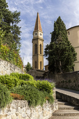 San Pietro e San Donato Cathedral, Val di Chiana Arezzo, Arezzo, Tuscany, Italy