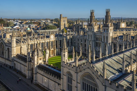 All Souls College, University of Oxford, Oxford, England, UK