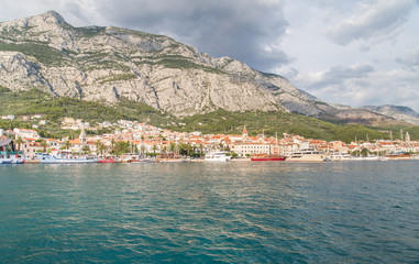 Makarska Riviera in Croatia