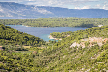 Amazing bay on Hvar island, Croatia