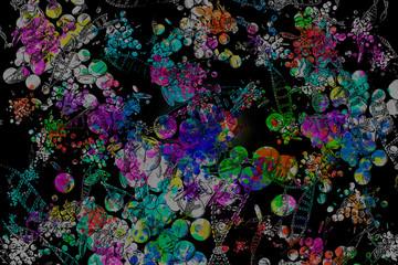 Nanobiotechology - Abstract Illustration
