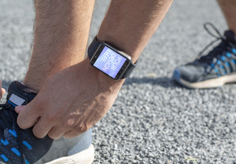 Smartwatch on Arm Mockup
