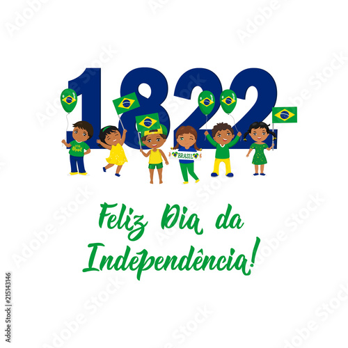Brazil independence day greeting card text in portuguese happy brazil independence day greeting card text in portuguese happy independence day 1822 m4hsunfo