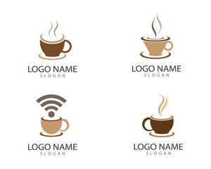 Coffee cup symbol illustration