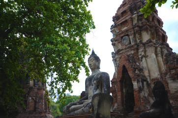 アユタヤ 仏像