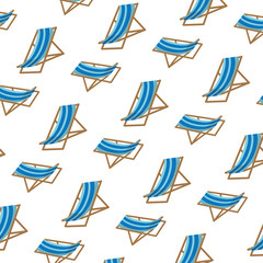 beach chair comfortable object background