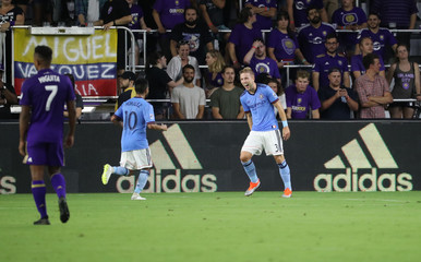 MLS: New York City FC at Orlando City SC