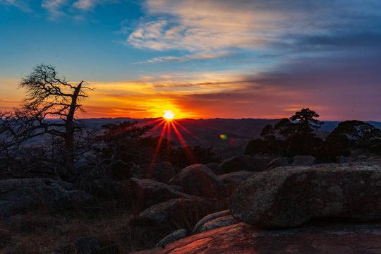 Sunset at Mt. Scott