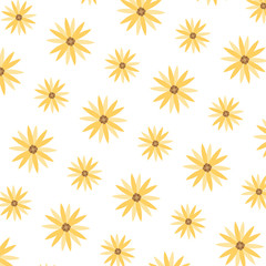 cute exotic flower with petals background
