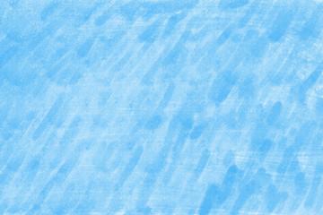 Blue abstract digital gouache brushstrokes background