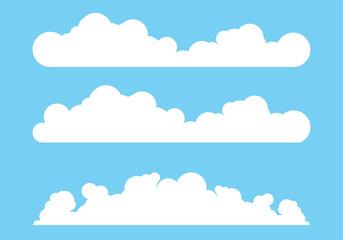 Cloud template vector illustration design
