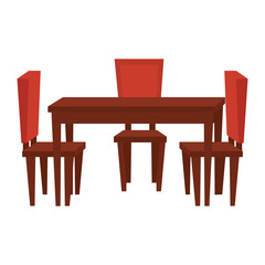 table dinning room with chairs