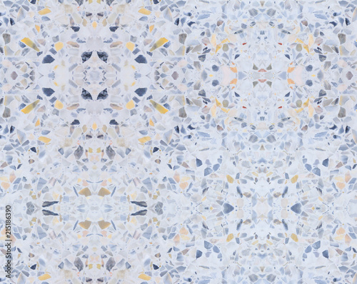 Terrazzo Flooring Old Texture Or Polished Stone Pattern Seamless And Color Wall Surface Marble Design For