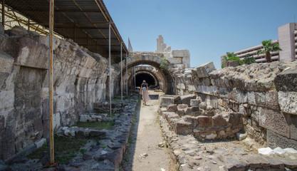 June 14, 2017, Turkey, Izmir, Agora of the Smyrna, Ancient Greek City