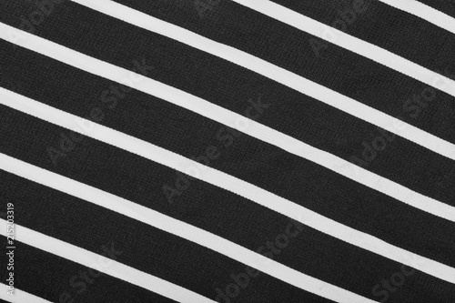 Black And White Stripes Striped Black And White Textile Pattern As