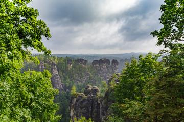 Elbsandsteingebirge-Rund um den Basteifelsen