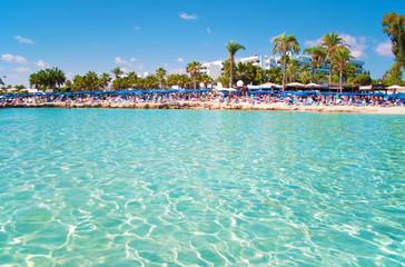 Image of breathtaking Nissi beach near Agia Napa