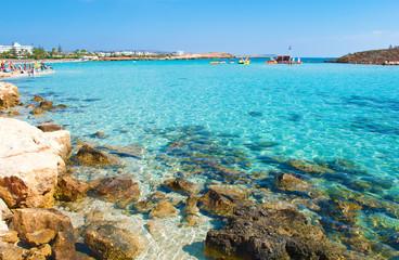 Image of breathtaking Nissi beach