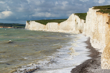 Wall Mural -  A beautiful day on the sussex coast