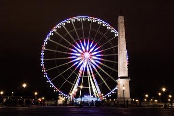 Paris Big wheel, Eiffel Tower, Obelisque