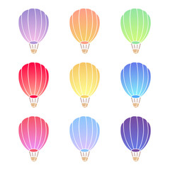 Air balloon set