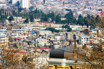 View of Tbilisi town, the Capital of Georgia