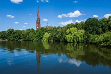 Alster Hamburg area