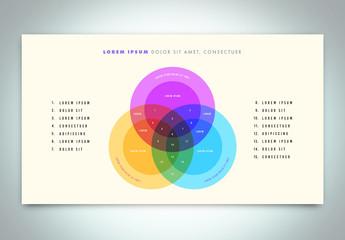 Venn Diagram Infographic Layout