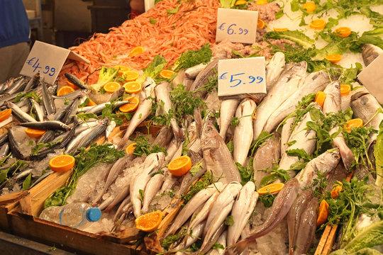Fish Market Stall