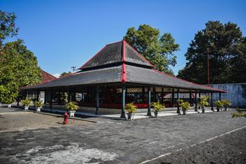 Kraton Yogyakarta Building. Kingdom in Indonesia.