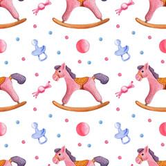 seamless children's pattern for children's parties