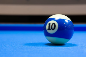 Billiard ball number 10