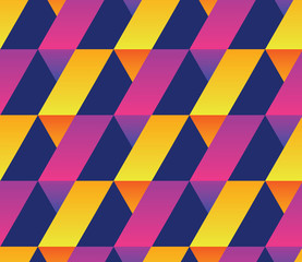 Geometry colorful abstract seamless pattern