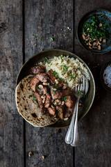 Chicken Tikka Masala with quinoa