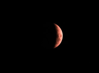 bloody moon, July 28, 2018