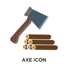axe icon on white background. Modern icons vector illustration. Trendy axe icons