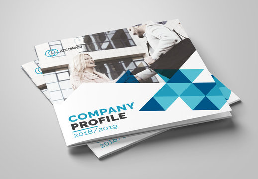 Company Profile Booklet Layout