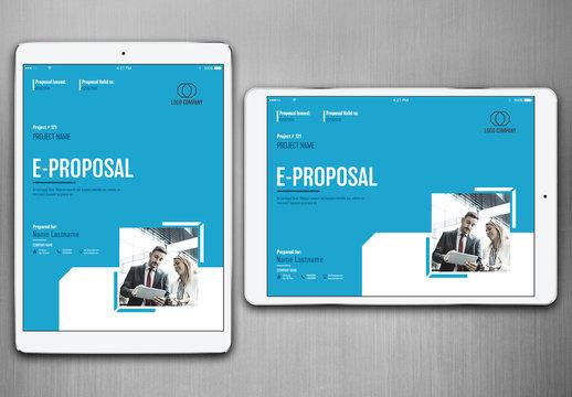 E-Proposal Layout